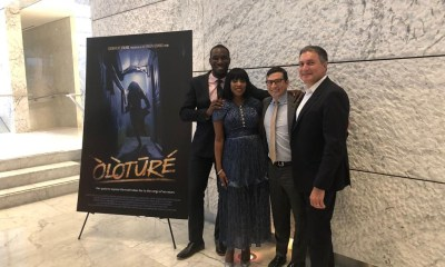 Nollywood blockbuster producers EbonyLife Films and Creative Artists Agency (CAA) co-hosted a screening of Òlòtūré at CAA's Los Angeles headquarters on recently.
