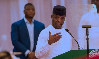Nigerian Vice President, Yemi Osinbajo, has reacted to the report making rounds that President Muhammadu Buhari is protecting herdsmen and Boko Haram members.