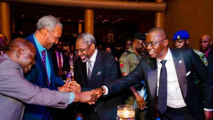 Lagos State Governor Babajide Sanwo-Olu attends 13th annual business law conference of the Nigerian Bar Association (NBA) in Lagos on Wednesday.