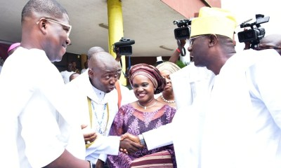 Lagos State Governor, Mr. Babajide Sanwo-Olu today restated the commitment of his administration to serve the people and be fair to all, irrespective of their religion, tribe or party affiliation.
