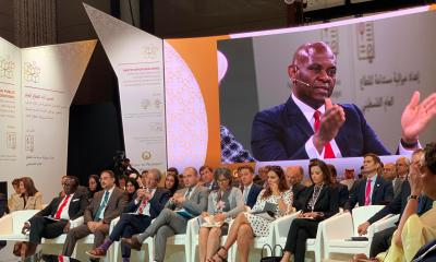 Tony Elumelu Chairman United Bank for Africa joins, Jared Kushner,Christine Lagarde, Heads of States and other global leaders convened at the Peace to Prosperity Workshop in Bahrain, organised by the Presidency of the United States of America in partnership with the host government, the Kingdom of Bahrain, to launch the US growth strategy for Palestine and the Middle East; a first step in the long journey towards establishing an enduring future for the region; the West Bank, Gaza, and beyond.