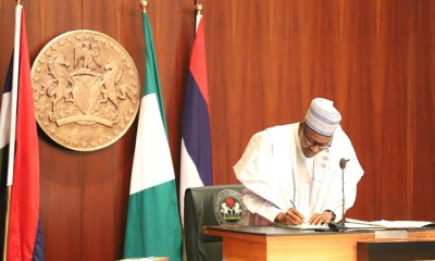 5 Trillion Naira Debt: Buhari Signs New AMCON Law