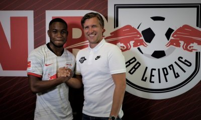 England's Ademola Lookman has joined German Club, RB Leipzig on a permanent basis from English premier league club, Everton.