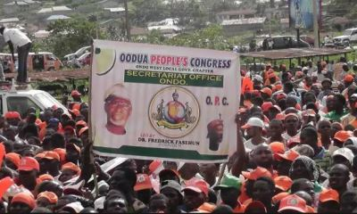 The Oodua Peoples Congress (OPC) has issued out a 21-day ultimatum to the Nigeria Police to fish out the killers of Mrs Funke Olakunrin's killers otherwise they would embark on an operation to drive out all criminals from the Yorubaland.