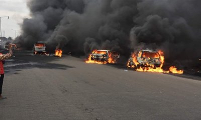 Many road users, not excluding residents were feared killed on Monday in after a tanker loaded with petroleum products went up in flames in Ahumbe village on the Alliade/ Makurdi Federal Highway in the Gwer East Local Government Area of Benue State.