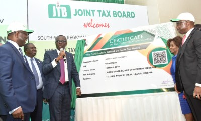 Photo News: Sanwo-Olu At Flag Off Ceremony Of New National Taxpayers Identification Number