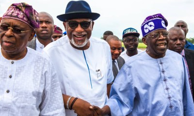 Ondo 2020: Tinubu Urges Aggrieved Members To Settle Their Differences