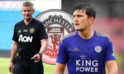 Manchester United have completed the signing of Harry Maguire from Leicester City on a six-year contract, with the option of a further year.