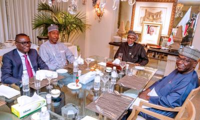 Recall President Muhammadu Buhari accompanied by Governor Babajide Sanwo-Olu; his counterpart in Borno, Babagana Umara Zulum; and Kwara State Alhaji AbdulRahman AbdulRazaq, on Sunday Travelled to Japan to attend the Seventh Tokyo International Conference on African Development (TICAD7).