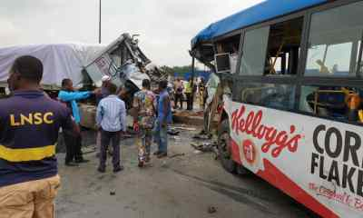 Many Feared Dead As Truck Collides With Lagos BRT Bus