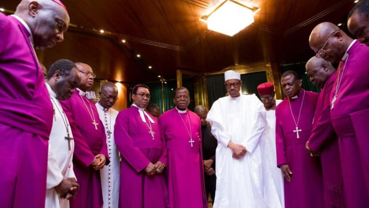 President Muhammadu Buhari Facilitates With New Anglican Primate, Ndukuba