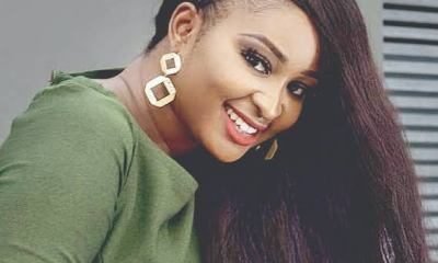 Abomination! Nigerian Actress, Etinosa Turns Bible To Ashtray, Vows To Do Same With Quran