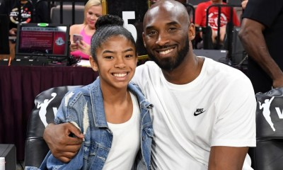 Late Kobe Bryant and daughter, Gigi