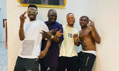 Obesere And Zlatan Hit The Studio(Video)