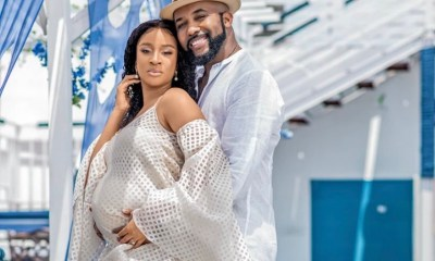 Adesuwa Etomi-Wellington and Banky W