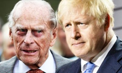 Prince Philip and Boris Johnson