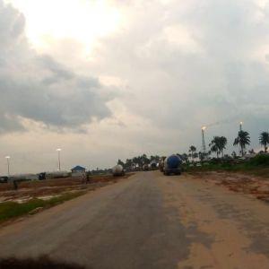 A flared site in Kwale community. Photo: Ganiyat Ganiyu