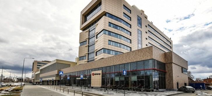 Гигантский офис «СКБ Контур» построили на Широкой Речке