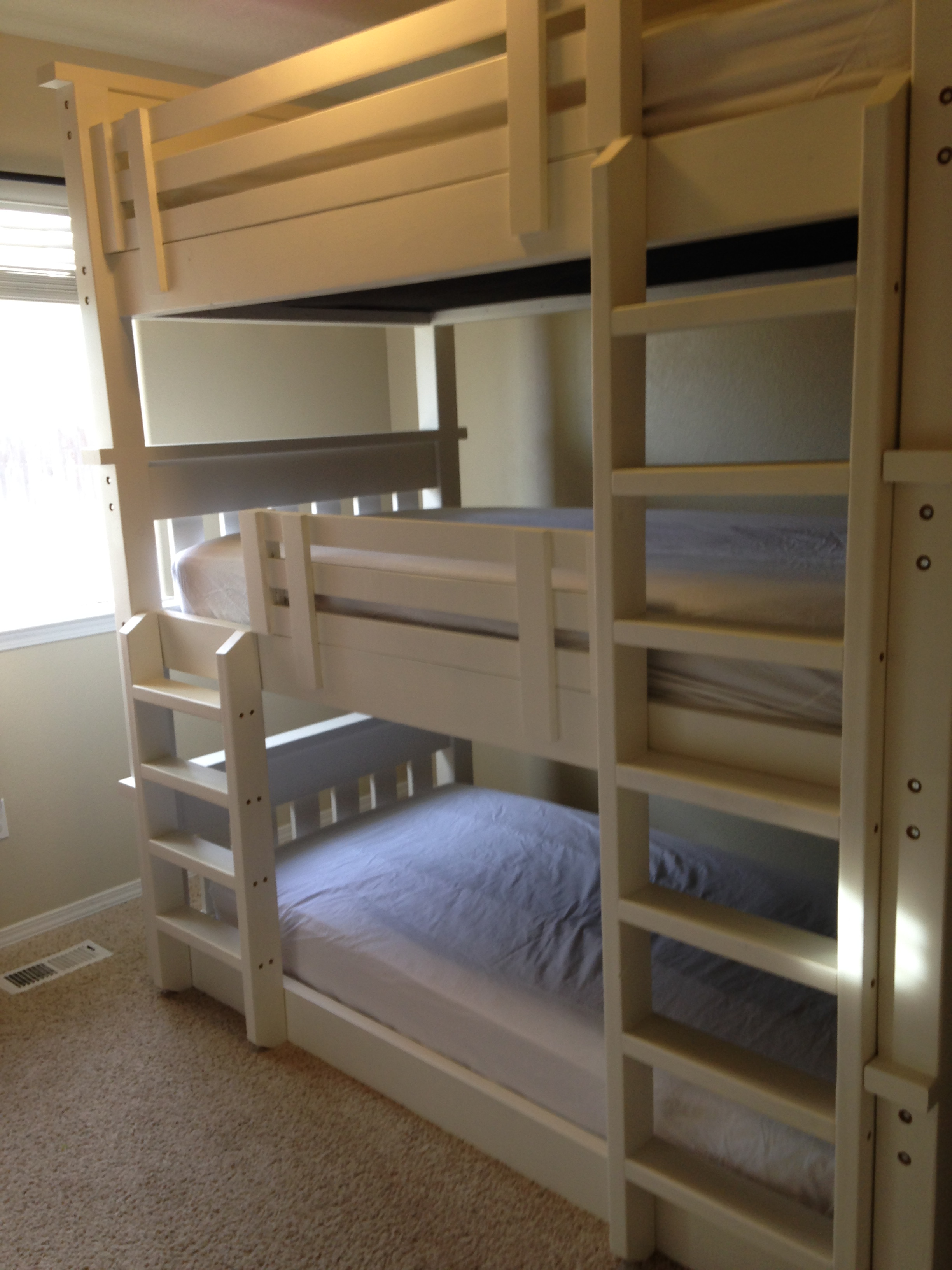 Simple Bunk Bed Triple Bunk Ana White