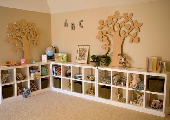 Toy Storage Shelves