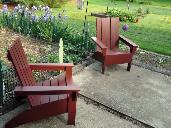 diy adirondack chair pattern
