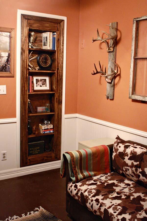 diy bookcase door plans