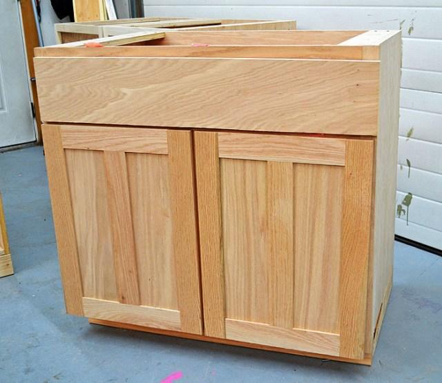 DIY Kitchen Cabinet Doors