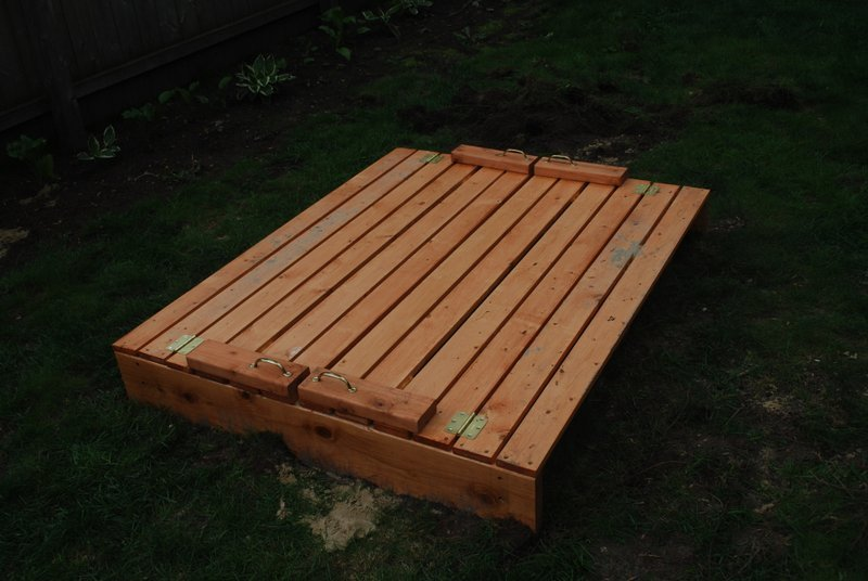 Ana White Sandbox With Benches Diy Projects