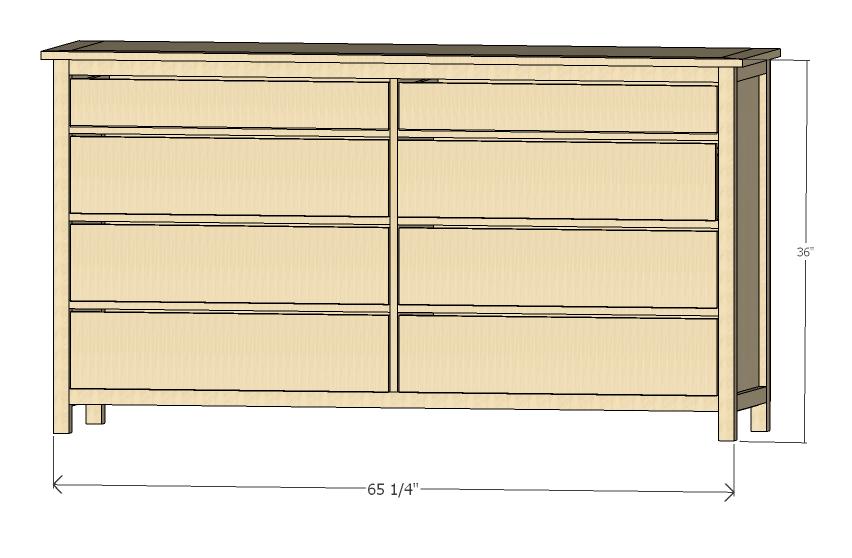 diy plans dresser