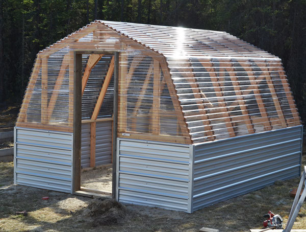 greenhouse plans diy wood
