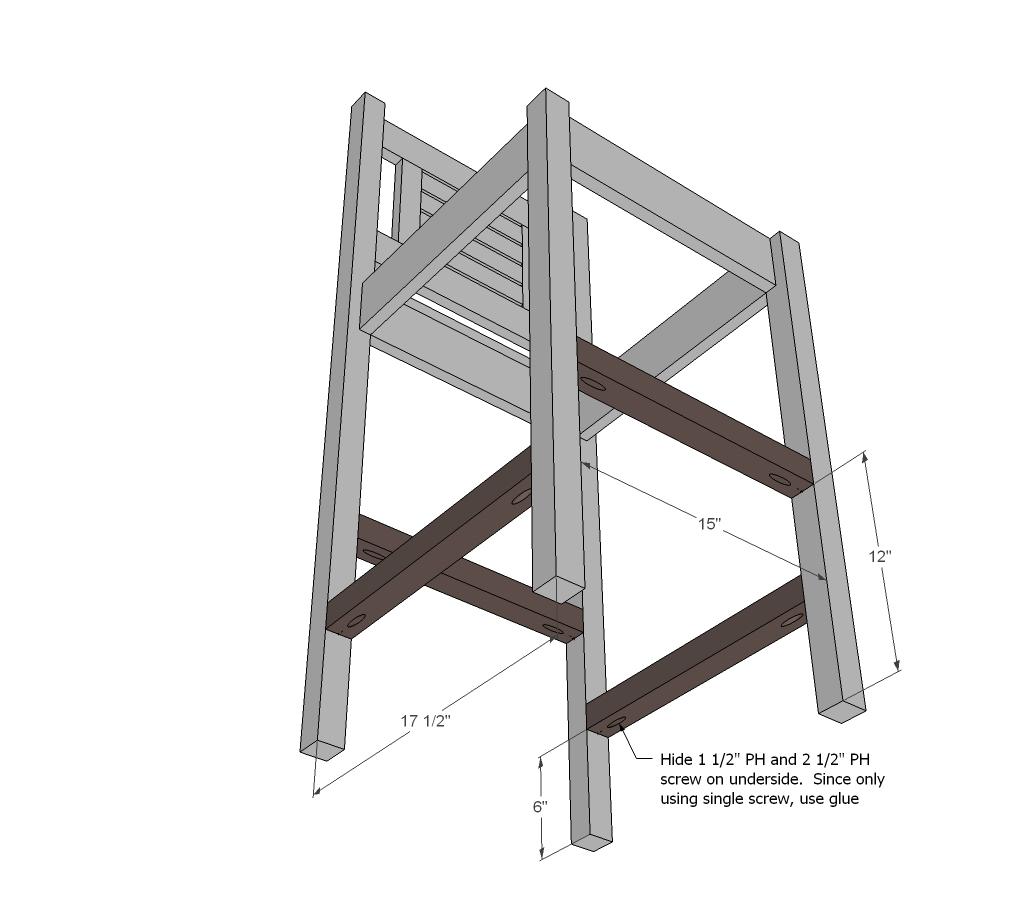 Build Diy Free Racing Bar Stool Plans Pdf Plans Wooden