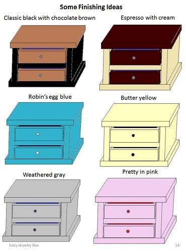 Easy Jewelry Box Plans