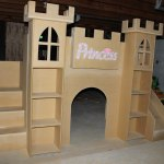Castle Loft Bed With Stairs And Slide Ana White