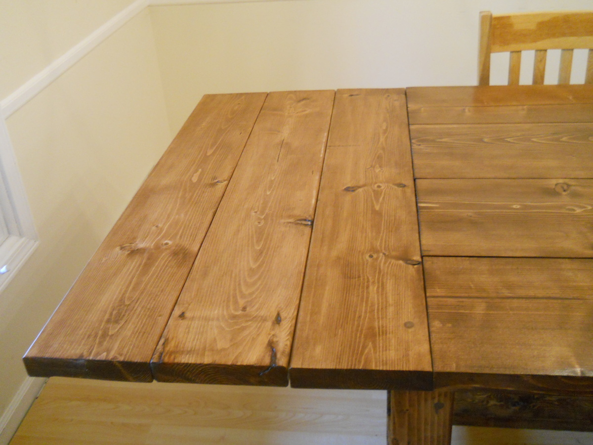 Farm House Dining Room Table (Modified With