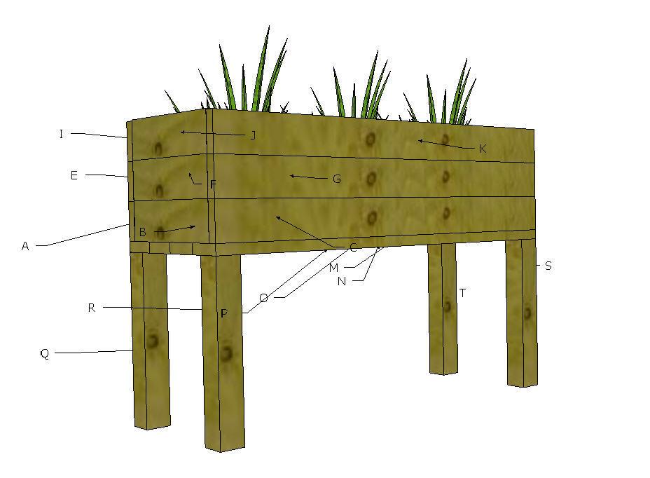 table planter plans
