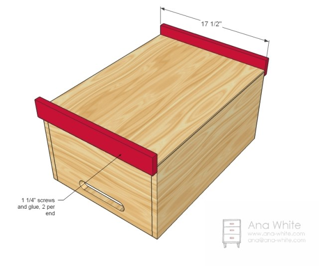 Easy To Make Toy Box, Simple…
