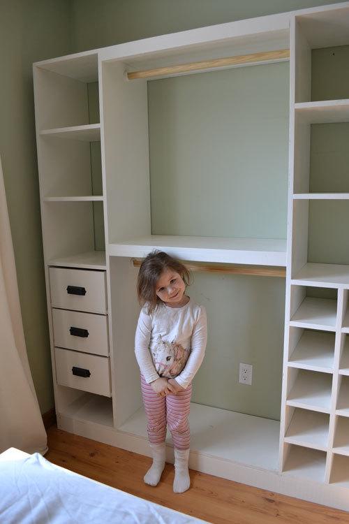Build DIY How to build a closet shelving system PDF Plans ...