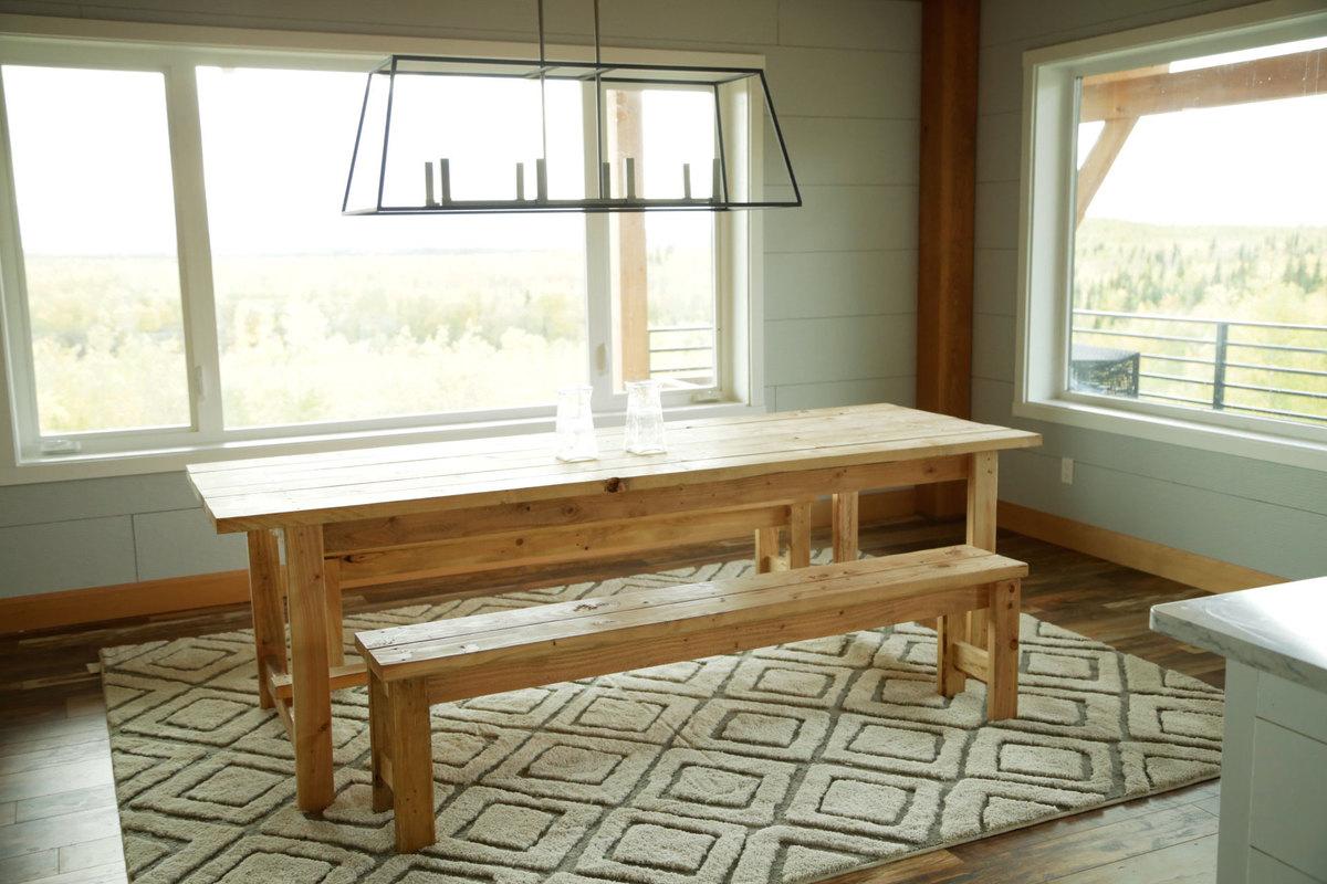 Beginner Farm Table (2 Tools + $50 Lumber