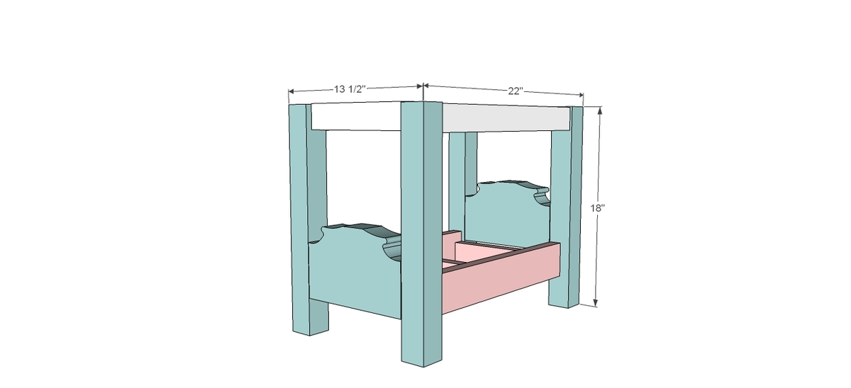 diy plans for 18inch doll bed