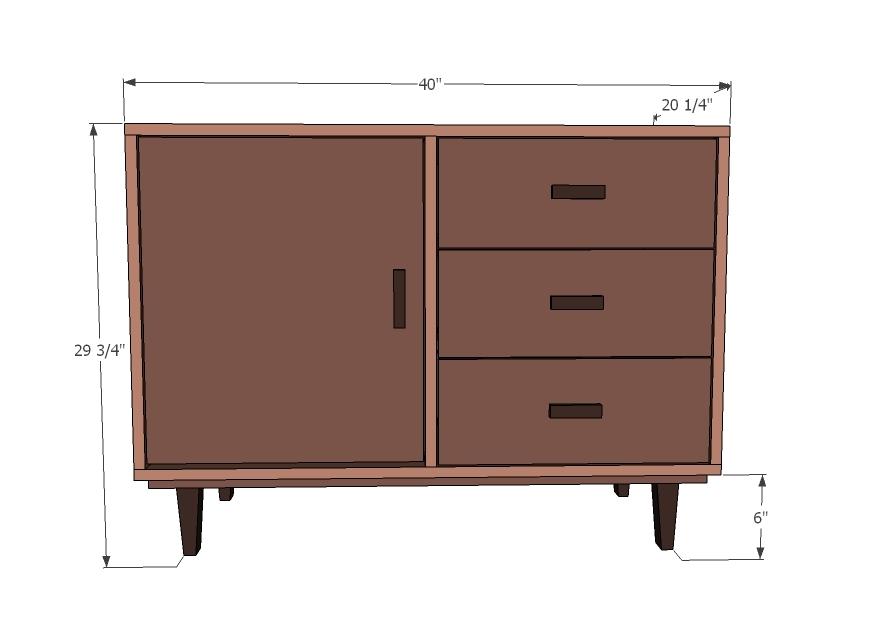 modern plans for furniture