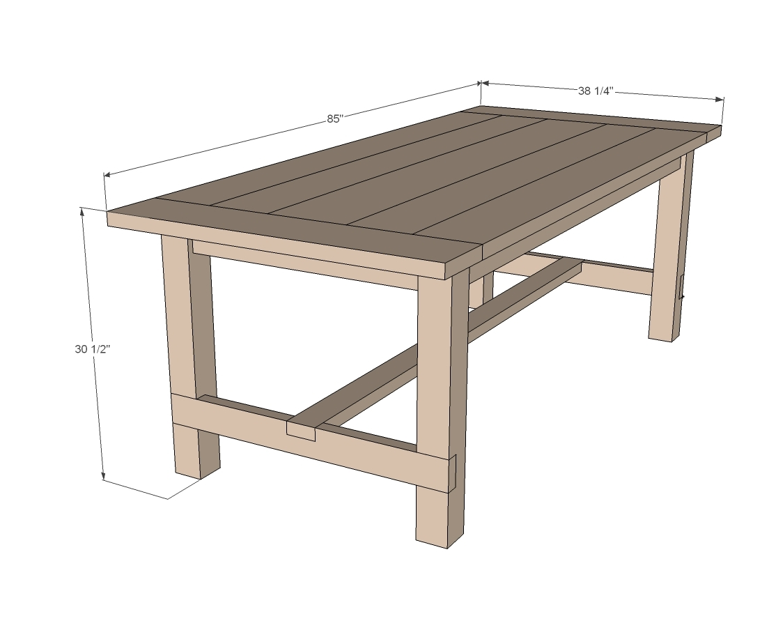 How To Build Woodworking Plans Farm Table Plans