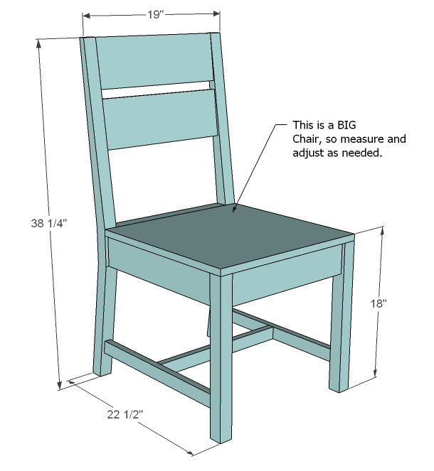 how to make a wooden chair plans