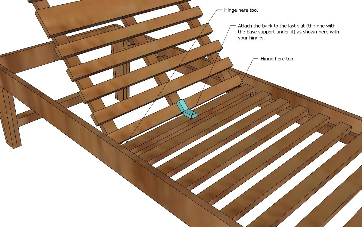 Pdf plans plans for wooden chaise lounge download free for Building a chaise lounge