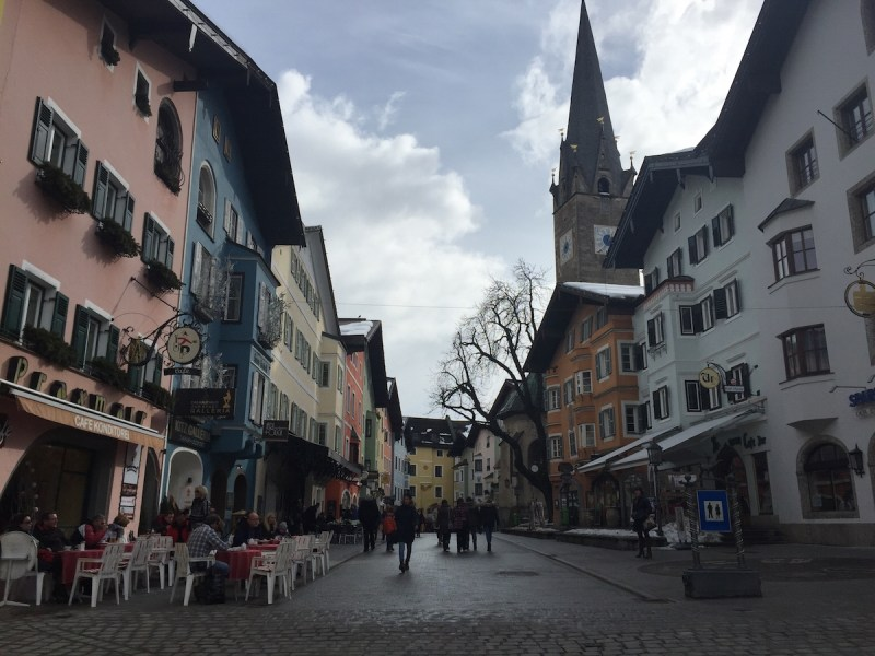 City center of Kitzbuhel