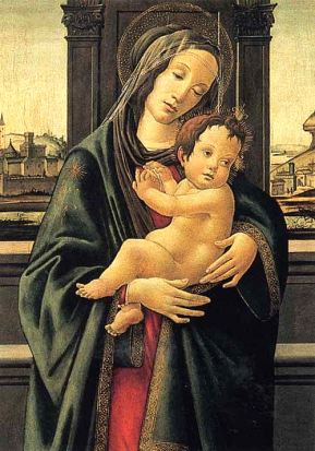 Italy Florence Stibbert Botticelli Madonna