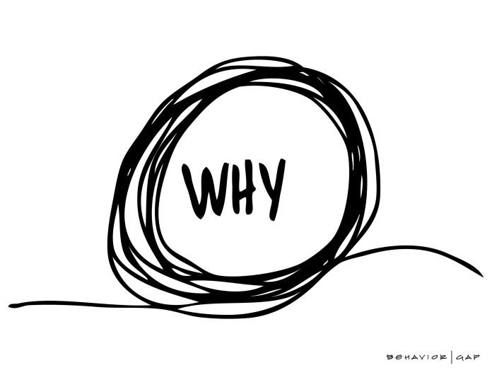 Why - image courtesy of @behaviorgap