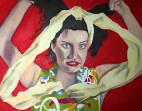 "La amiga americana,50x70, óleo sobre lienzo.2008.en la página ""figuraciones""."