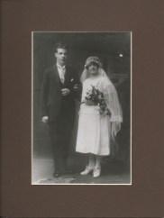 My grandparents, 1925