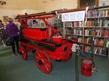 Fire engine display