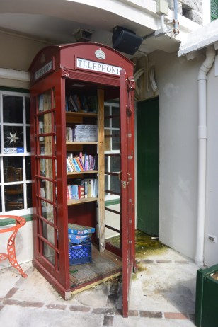 Book swap in St George's
